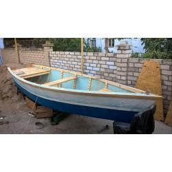 Лодка плоскодонная пластиковая JMP (плоскодонка), boat VOZ-4