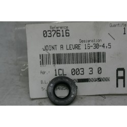 Сальник коленвала оригинал 16-30-4.5, Peugeot 100, OIL SEAL 037616