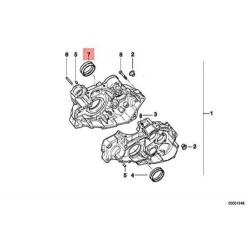 Вкладыш коленвала оригинал BMW F 650, Bush Bearing 11117670399