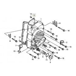Прокладка правой крышки картера двигателя оригинал Honda, Right crankcase cover 11394-KAB-020
