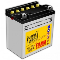 Аккумуляторная батарея Fiamm Motor Energy AGM Technology 12N10-3A, 12V 10Ah R+
