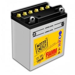 Аккумуляторная батарея Fiamm Motor Energy AGM Technology 12N5-3B, 12V 5Ah R+
