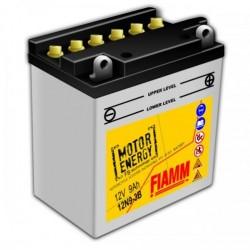 Аккумуляторная батарея Fiamm Motor Energy AGM Technology 12N9-3B, 12V 9Ah R+