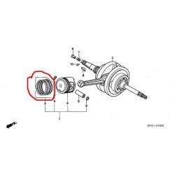 Кольца поршневые оригинал scooter HONDA FES 250 piston ring STD 13010-KFG-000