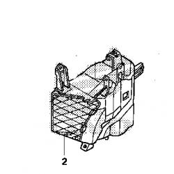 Воздушный рукав правый Honda Gl 1800 01-05, AIR GUIDE, R. 19015-MCA-A20