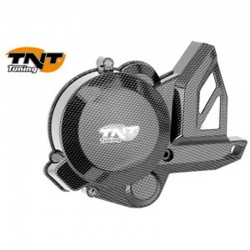 Кришка генератора TNT Carbon Look Derbi/ Piaggio D50B0, Ignition Cover 289078C