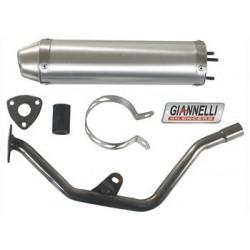 Глушитель трубы Giannelli для Enduro Yamaha DT50R, Aluminium silencer 34625HF