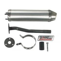 Глушитель трубы Giannelli для Enduro Yamaha DT50R, Aluminium silencer 34652HF