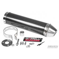 Глушитель трубы Giannelli для Derbi Senda X-Race/ X-Treme, Carbon fibre silencer 34684HF