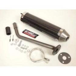 Глушитель трубы Giannelli для Enduro Beta RR Enduro-Motard, Carbon fibre silencer 34692HF