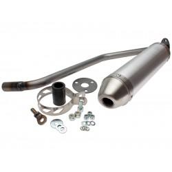 Глушитель трубы Giannelli для Enduro Generic TR 50 SM, Aluminium silencer 34695HF