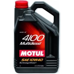 Двигательное масло для автомобилей Motul 4100 Multi Diesel 10W40, 381006, 5л