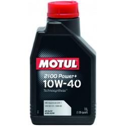 Двигательное масло для автомобилей Motul 2100 Power+ 10W40, 397701, 1л