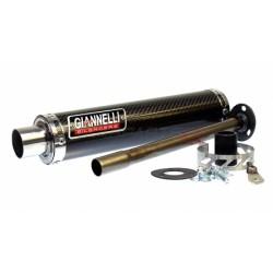 Глушитель трубы Giannelli для Derbi GPR125R- Nude 2T, Carbon fibre silencer 53612HF