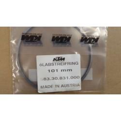 Маслосъемное кольцо оригинал KTM LC4 640, 101mm piston ring 58330831000