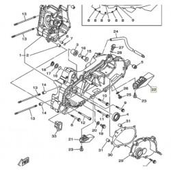 Воздуховод, scooter Yamaha, 5RU-15475-10-00
