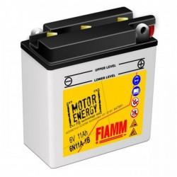 Аккумуляторная батарея Fiamm Motor Energy AGM Technology 6N11A-1B 6V 11Ah R +