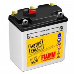 Аккумуляторная батарея Fiamm Motor Energy AGM Technology 6N6-3B, 6В 6Ah R +