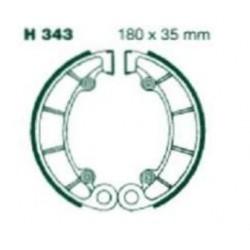 Колодки тормозные EBC H343
