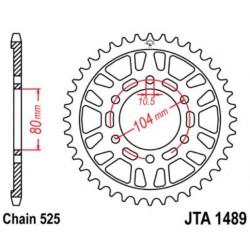 JT звезда задняя JTA1489