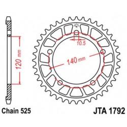 JT звезда задняя JTA1792