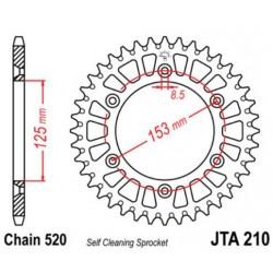 JT звезда задняя JTA210