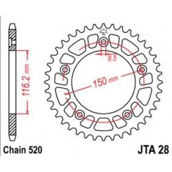 JT звезда задняя JTA28