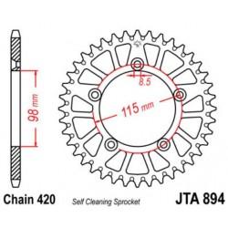 JT звезда задняя JTA894
