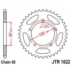 JT звезда задняя JTR1022