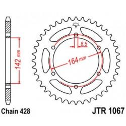 JT звезда задняя JTR1067