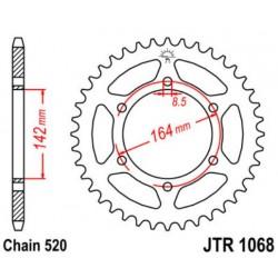 JT звезда задняя JTR1068