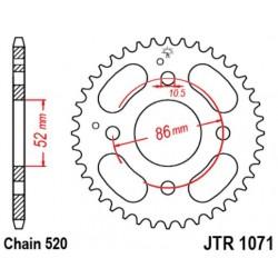 JT звезда задняя JTR1071