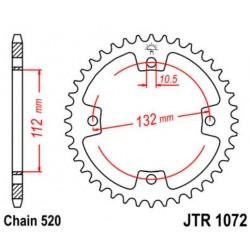 JT звезда задняя JTR1072