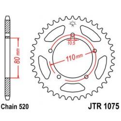 JT звезда задняя JTR1075