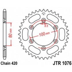 JT звезда задняя JTR1076