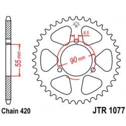 JT звезда задняя JTR1077
