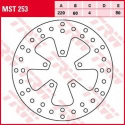 Диск тормозной Lucas TRW для  Aprilia, Derbi, Piaggio BRAKE DISC D220 MST253 (AP8113541, AP8213381)
