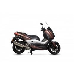 Труба выхлопная Scorpion для Yamaha X-MAX 300, Serket Parallel Slip-on RYA109SEO