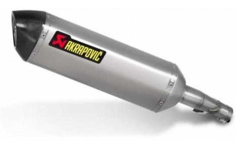 Труба выхлопная AKRAPOVIC для Honda Integra NC 700-750, Muffler Slip-On S-H7SO1-HT