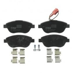 Колодки тормозные передние TRW для Fiat, GDB1655