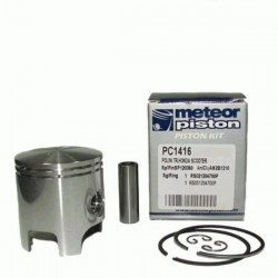 Поршень в комплекте Meteor scooter Polini - Honda - Peugeot - Piaggio 50 2t piston kit PC1416 (204.0680; 204.0684)