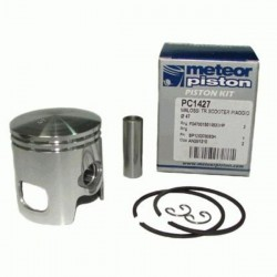 Поршень в комплекте Meteor scooter Malossi - Honda - Peugeot - Piaggio 50 2t piston kit PC1427 (347036)